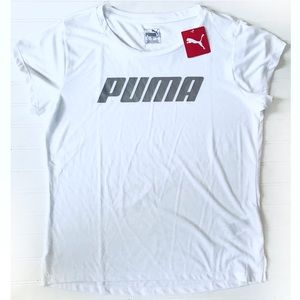 Puma speed logo short sleeve tee Sz. M